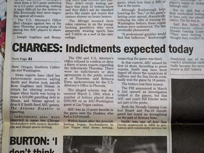 Charges Indictments expected today