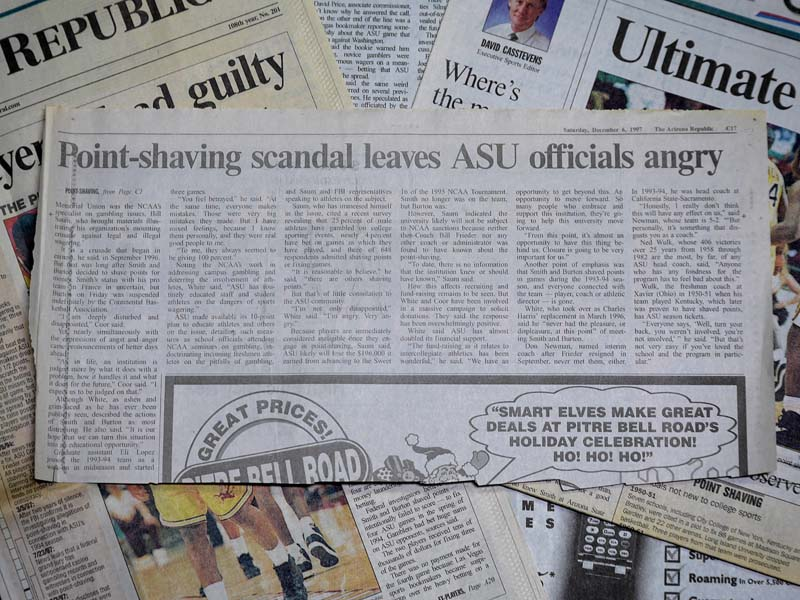 Point shaving scandal leaves ASU officials angry