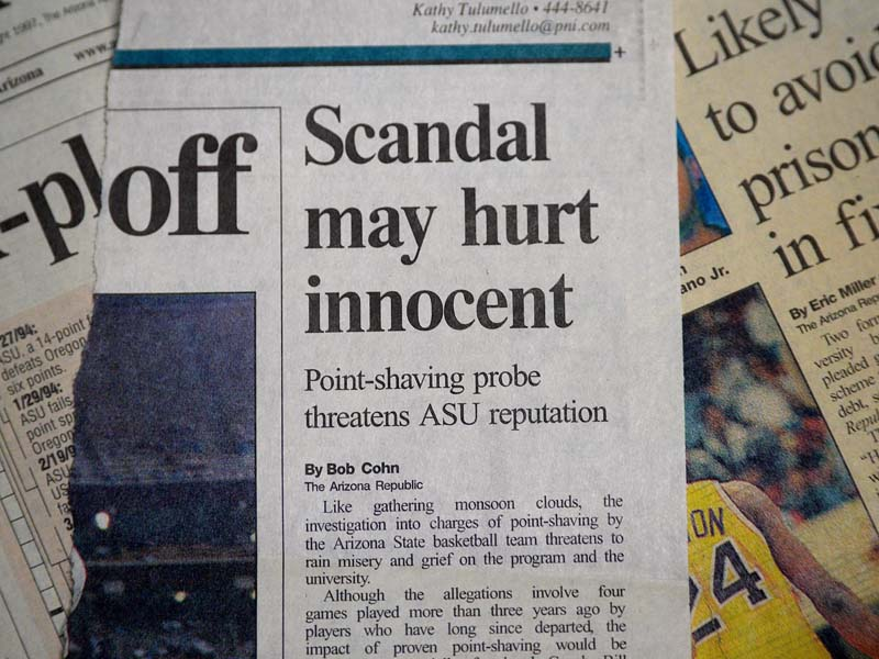 scandal may hurt innocent